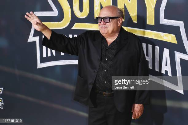 "Danny DeVito attends the premiere of FX's ""It's Always Sunny In Philadelphia"" Season 14 at TCL Chinese 6 Theatres on September 24, 2019 in Hollywood,..."