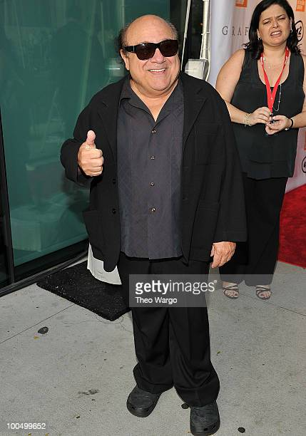 Danny DeVito attends the The Film Society of Lincoln Center's 37th Annual Chaplin Award gala at Alice Tully Hall on May 24, 2010 in New York City.
