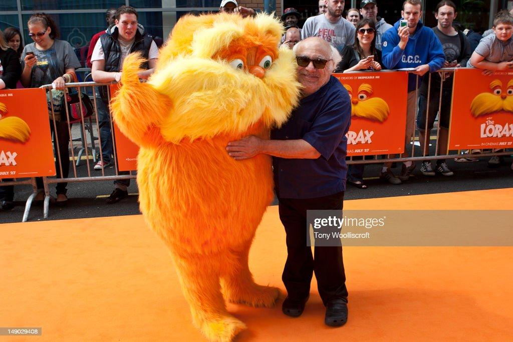 Dr Seuss' The Lorax - UK premiere : News Photo