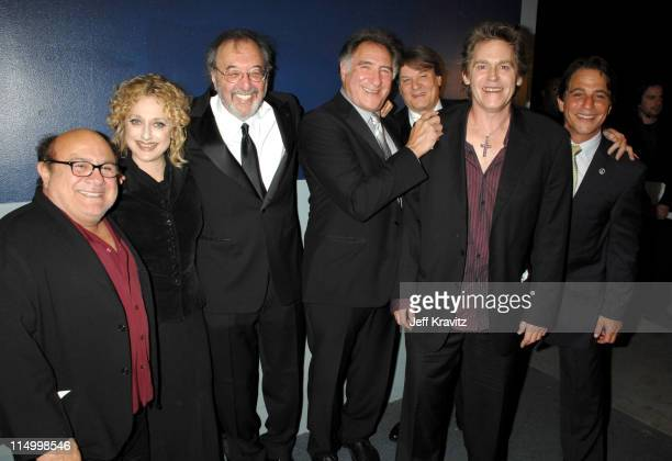 Danny DeVito Carol Kane James L Brooks Judd Hirsch Randall Carver Jeff Conaway and Tony Danza