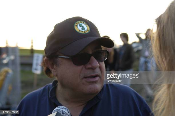 Danny DeVito during Phish Coventry Festival 2004 Day 2 at Coventry in Newport Vermont United States