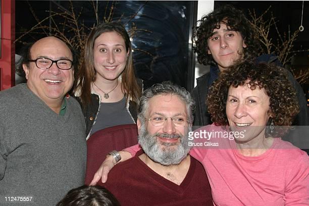 Danny DeVito Lucy Chet DeVito Jake Daniel DeVito Harvey Fierstein and Rhea Perlman