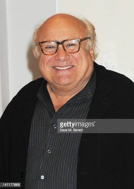 Danny DeVito poses as part of a UK photocall to celebrate the huge success of his new film 'The Lorax' on March 12 2012 in London United Kingdom