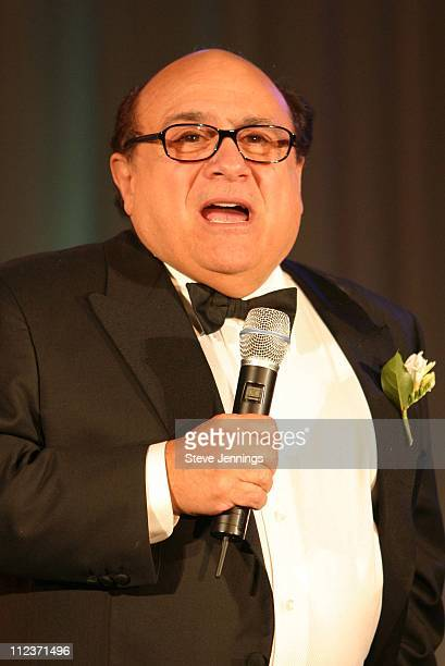 Danny DeVito presents Director Milos Forman with Lifetime Achievement Award
