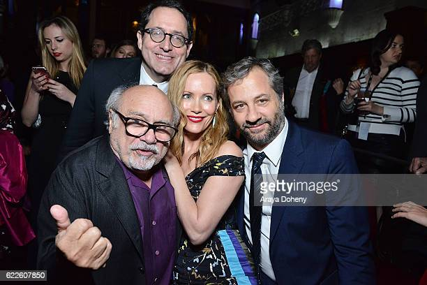 Danny DeVito Tom Rothman Leslie Mann and Judd Apatow attend the AFI FEST 2016 presented by Audi Premiere Of Sony Pictures Classics' 'The Comedian'...