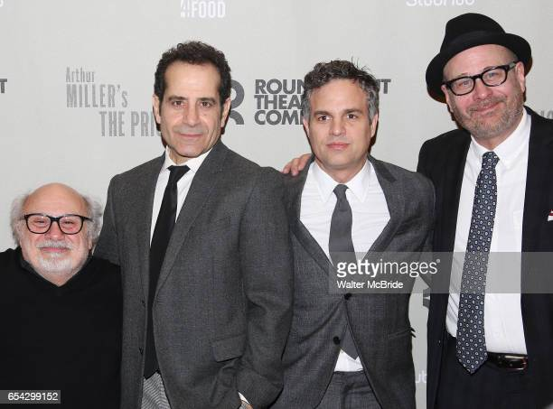 Danny DeVito Tony Shalhoub Mark Ruffalo and Terry Kinney attends the Broadway Opening Night performance After Party for the Roundabout Theatre...