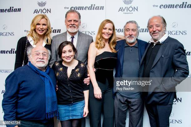 Danny DeVito Veronica Ferres Lucy DeVito director Taylor Hackford Leslie Mann Robert De Niro and Art Linson attend a Screening Of Sony Pictures...