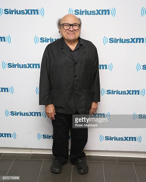Danny DeVito visits at SiriusXM Studio on April 18 2016 in New York City