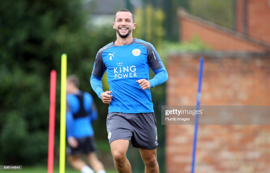Leicester City - Training & Press Conference : News Photo