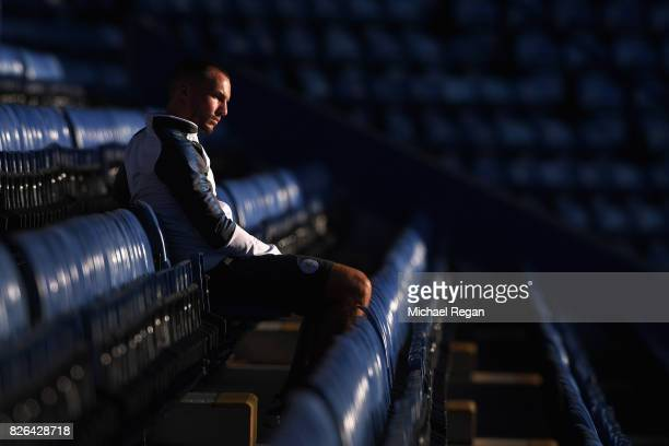 Danny Drinkwater looks on before the preseason friendly match between Leicester City and Borussia Moenchengladbach at The King Power Stadium on...