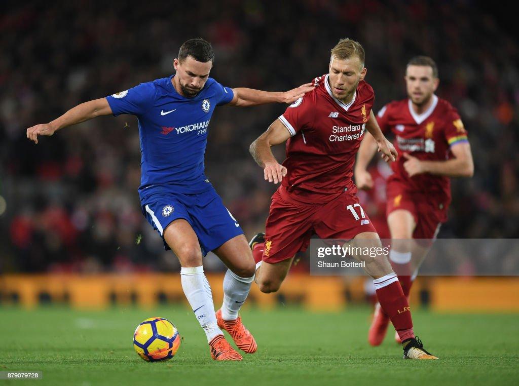 Liverpool v Chelsea - Premier League : ニュース写真