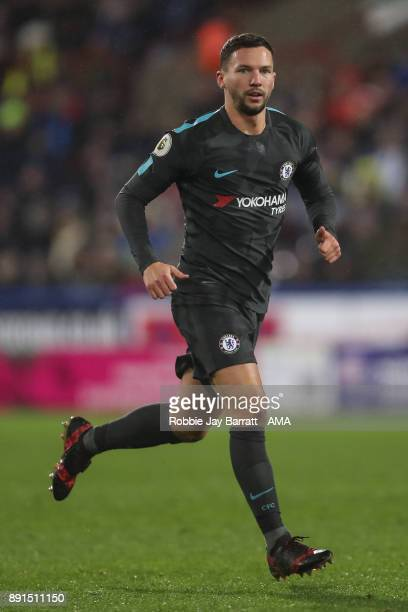 Danny Drinkwater of Chelsea during the Premier League match between Huddersfield Town and Chelsea at John Smith's Stadium on December 12 2017 in...