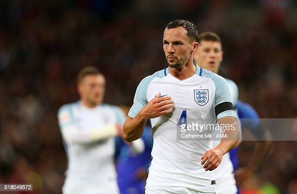 Danny Drinkwater of England during the international friendly between England and Netherlands at Wembley Stadium on March 29 2016 in London England