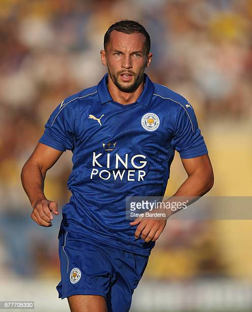 Danny Drinkwater of Leicester City during the preseason friendly between Oxford City and Leicester City at Kassam Stadium on July 19 2016 in Oxford...