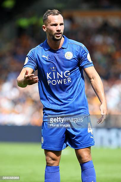 Danny Drinkwater of Leicester City in action at KCOM Stadium during the Premier League match between Leicester City and Hull City at KC Stadium on...