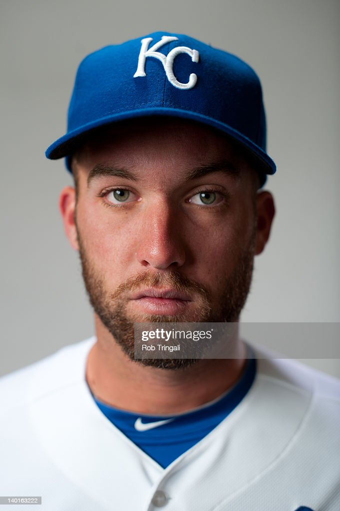 Danny Duffy #23 of the Kansas City Royals poses during photo day at the Surprise Sports Complex on February 29, 2012 in Surprise, Arizona.