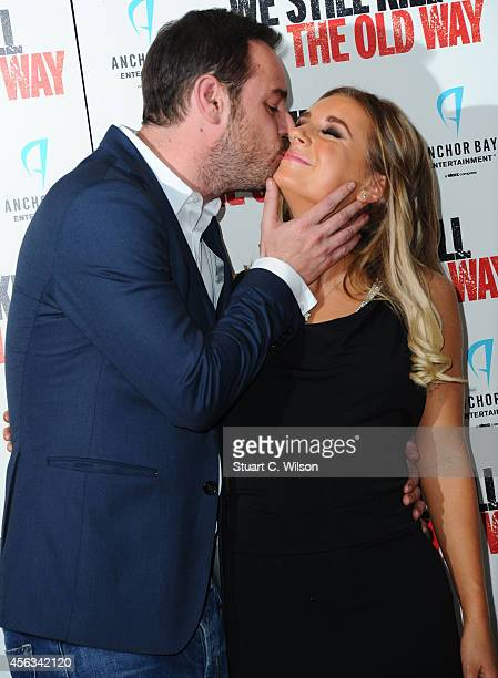 Danny Dyer and Dani Dyer attend a photocall for We Still Kill The Old Way at Ham Yard Hotel on September 29 2014 in London England