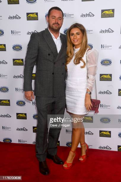 Danny Dyer and Dani Dyer during the Paul Strank Charity Gala at the Bank of England Sports Centre on September 21 2019 in London England