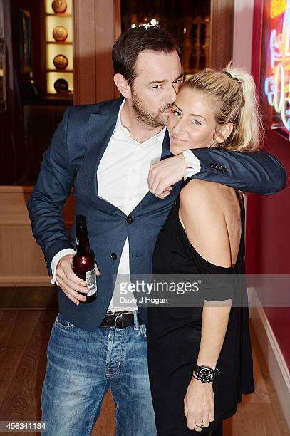 Danny Dyer and Joanne Mas attend a photocall for We Still Kill The Old Way at Ham Yard Hotel on September 29 2014 in London England