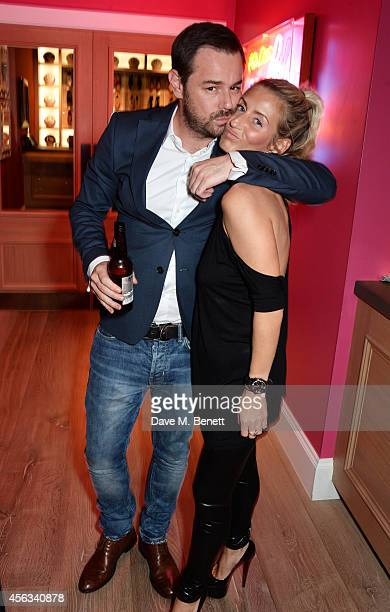 Danny Dyer and Joanne Mas attend a Special Screening of We Still Kill The Old Way at the Ham Yard Hotel on September 29 2014 in London England