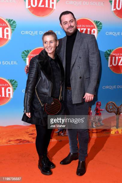 Danny Dyer and Joanne Mas attend Cirque du Soleil's LUZIA at The Royal Albert Hall on January 15 2020 in London England