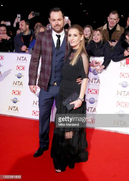Danny Dyer and Joanne Mas attend the National Television Awards 2020 at The O2 Arena on January 28 2020 in London England