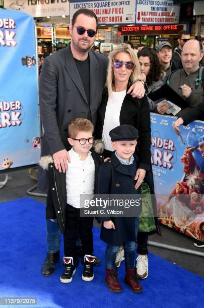 Danny Dyer and Joanne Mas attend the UK Gala screening of WONDER PARK at Vue Leicester Square on March 24 2019 in London England