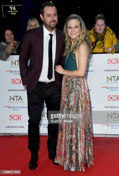 Danny Dyer and Kellie Bright attend the National Television Awards held at the O2 Arena on January 22 2019 in London England