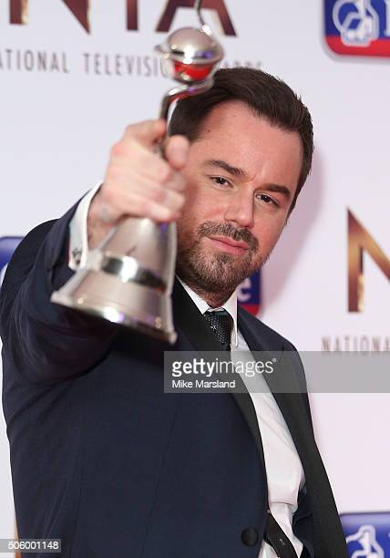 Danny Dyer attends the 21st National Television Awards Winners Room at The O2 Arena on January 20 2016 in London England