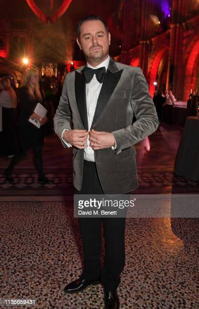 Danny Dyer attends The Olivier Awards 2019 after party at The Natural History Museum on April 7 2019 in London England