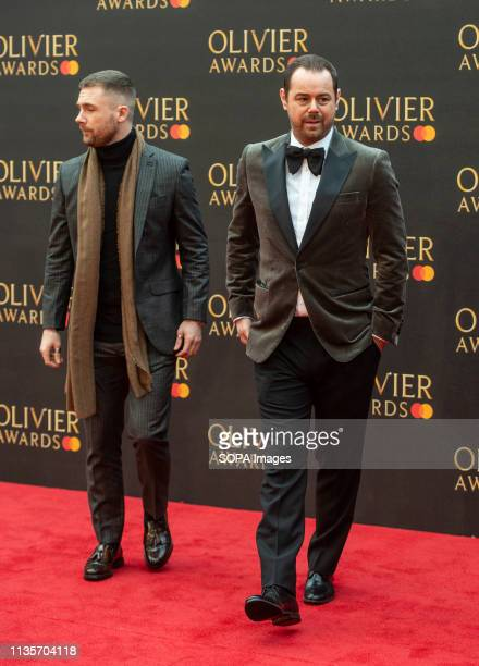 Danny Dyer attends The Olivier Awards 2019 with Mastercard at Royal Albert Hall