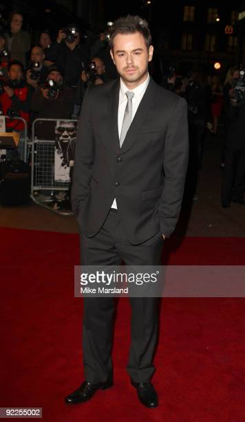 Danny Dyer attends the UK Premiere of 'Dead Man Running' at Odeon Leicester Square on October 22, 2009 in London, England.