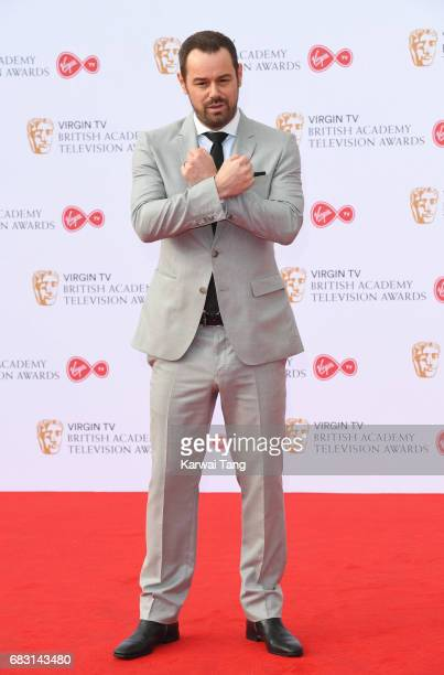 Danny Dyer attends the Virgin TV BAFTA Television Awards at The Royal Festival Hall on May 14 2017 in London England