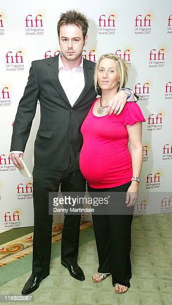 Danny Dyer during Fragrance Foundation UK FIFI Awards 2007 at Dorchester Hotel in London United Kingdom
