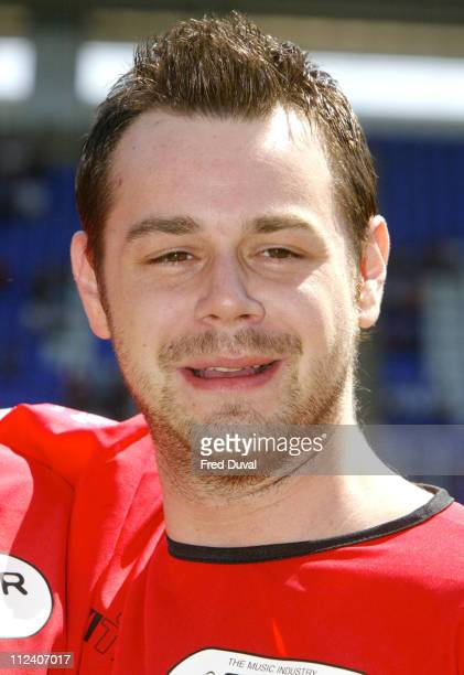 Danny Dyer during The Music Industry Soccer Six May 23 2004 at Madejski Stadium in London United Kingdom