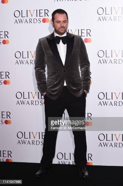 Danny Dyer during The Olivier Awards with Mastercard at the Royal Albert Hall on April 07 2019 in London England