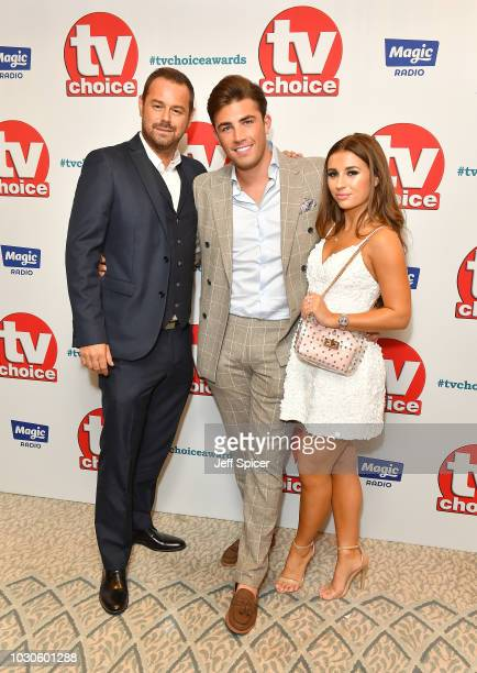 Danny Dyer Jack Fincham and Dani Dyer attend the TV Choice Awards at The Dorchester on September 10 2018 in London England