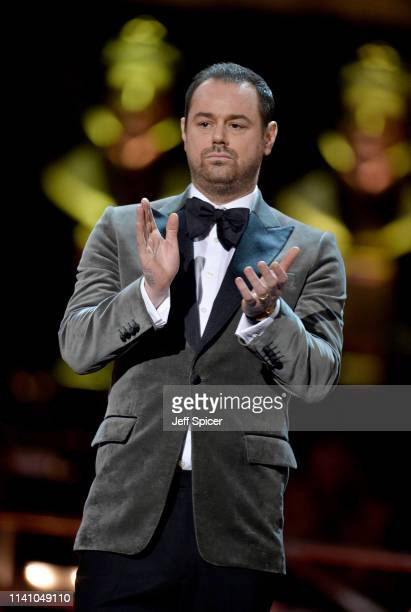 Danny Dyer on stage during The Olivier Awards 2019 with Mastercard at the Royal Albert Hall on April 07 2019 in London England