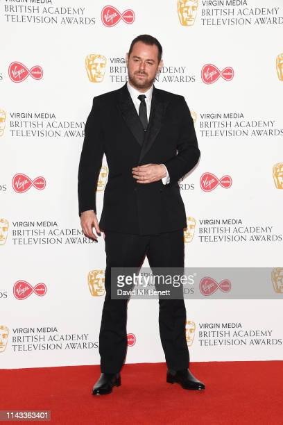 Danny Dyer poses in the press room at the Virgin Media British Academy Television Awards at The Royal Festival Hall on May 12 2019 in London England