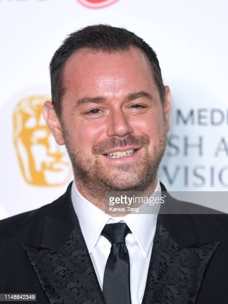 Danny Dyer poses in the Press Room at the Virgin TV BAFTA Television Award at The Royal Festival Hall on May 12 2019 in London England