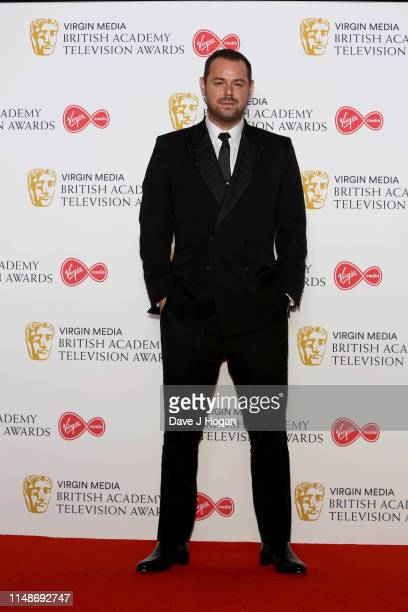 Danny Dyer presents the Virgin Media MustSee Moment Award in attendance at the Virgin Media British Academy Television Awards 2019 at The Royal...