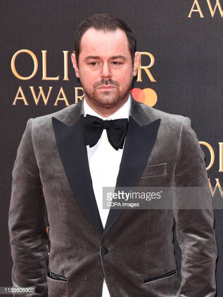 Danny Dyer seen on the red carpet during The Olivier Awards 2019 with Mastercard at Royal Albert Hall in London