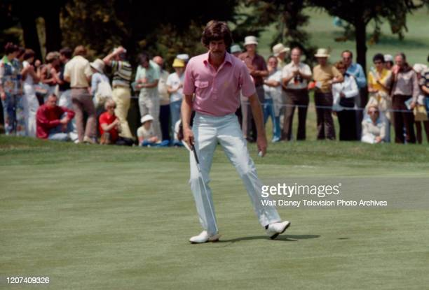 Danny Edwards competing in the 1977 PGA Tournament of Champions ABC Sports coverage