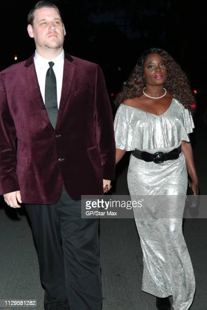 Danny Eley and Nimi Adokiye are seen on March 9 2019 in Los Angeles