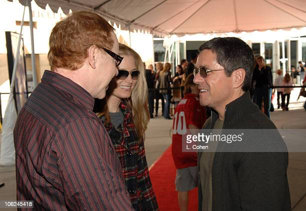 Danny Elfman Bridget Fonda and Brad Grey during Charlotte's Web Los Angeles Premiere Red Carpet at ArcLight Theatres in Hollywood California United...