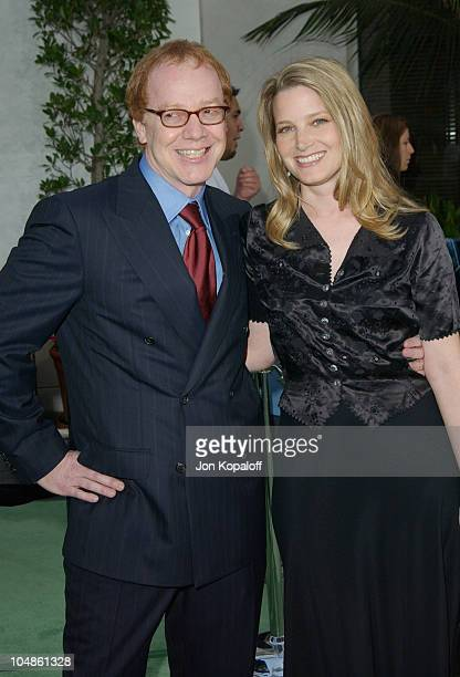 Danny Elfman Bridget Fonda during The World Premiere Of The Hulk at Universal Amphitheatre in Universal City California United States