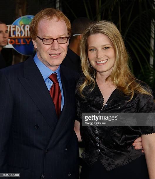 Danny Elfman Bridget Fonda during World Premiere Of The Hulk Hollywood at Universal Amphitheatre in Universal City California United States