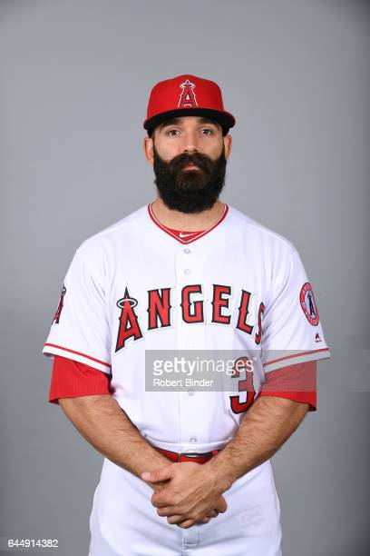 Danny Espinosa of the Los Angeles Angels poses during Photo Day on Tuesday February 21 2017 at Tempe Diablo Stadium in Tempe Arizona
