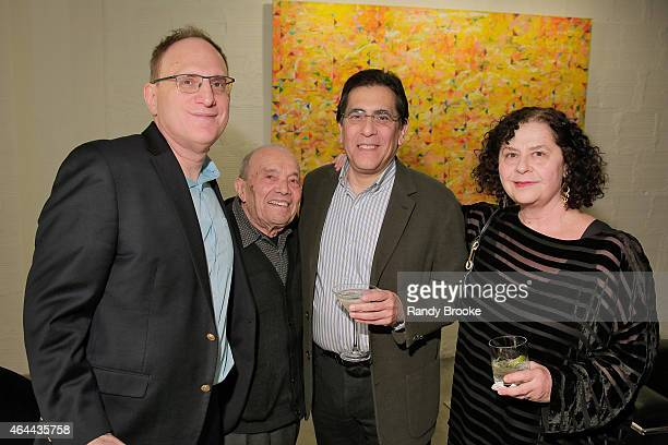 Danny Fisher Alan Fisher and guests attend FilmRise Celebrates new office in Industry City Brooklyn at FilmRise on February 25 2015 in Brooklyn New...