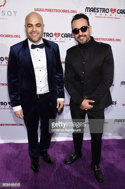 Danny Flores and Jean Rodriguez of Coast City attend the Maestro Cares Third Annual Gala Dinner at Cipriani Wall Street on March 8 2018 in New York...